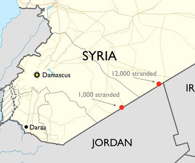 Syria's encrypted messages to Jordan