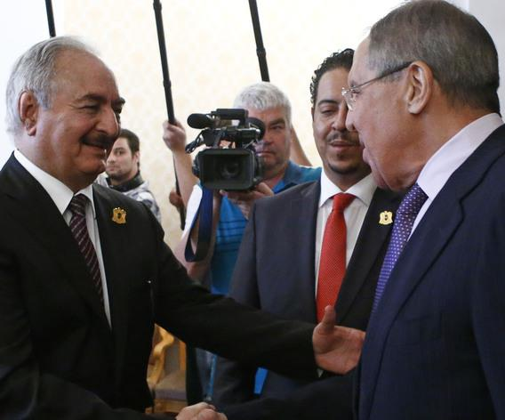 Moscow looking beyond Hifter in Libya